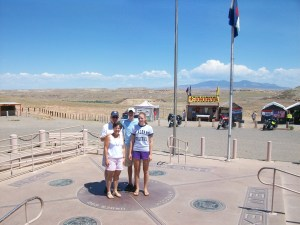 Standing in Four States at Once