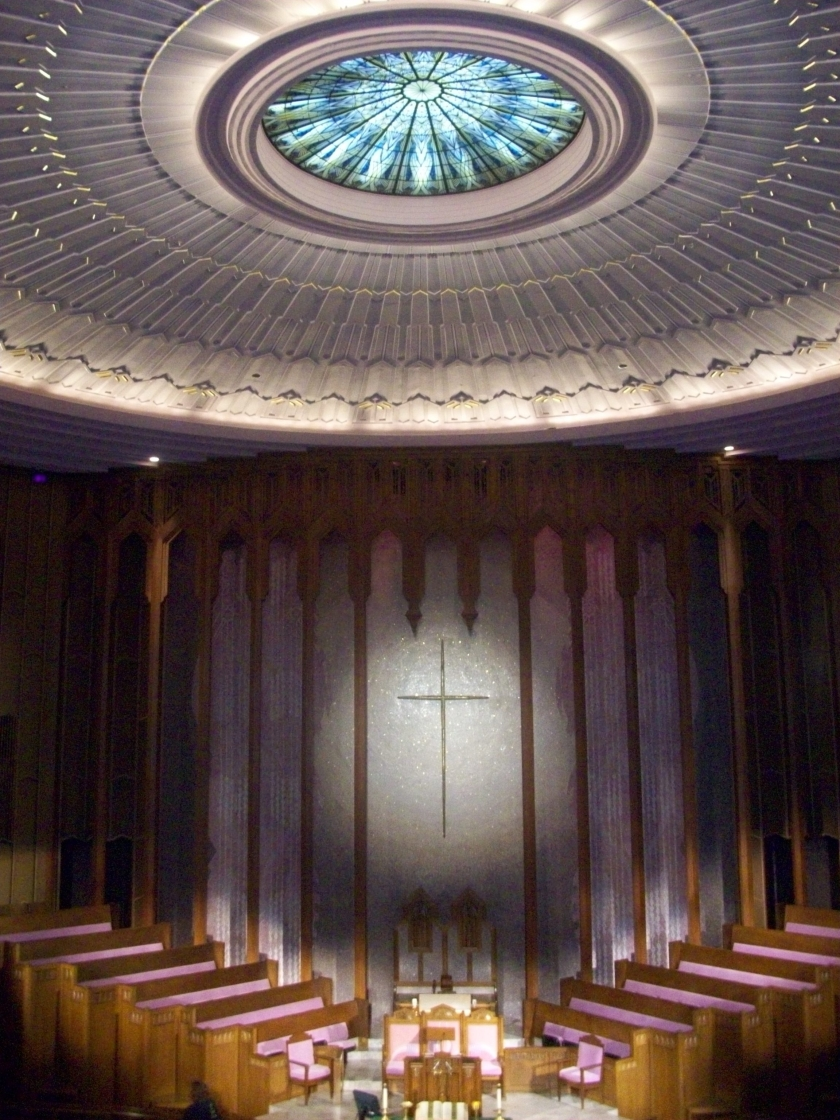 Boston Avenue Church Interior