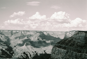 Grand Canyon view, August 2008, Photo by Claire