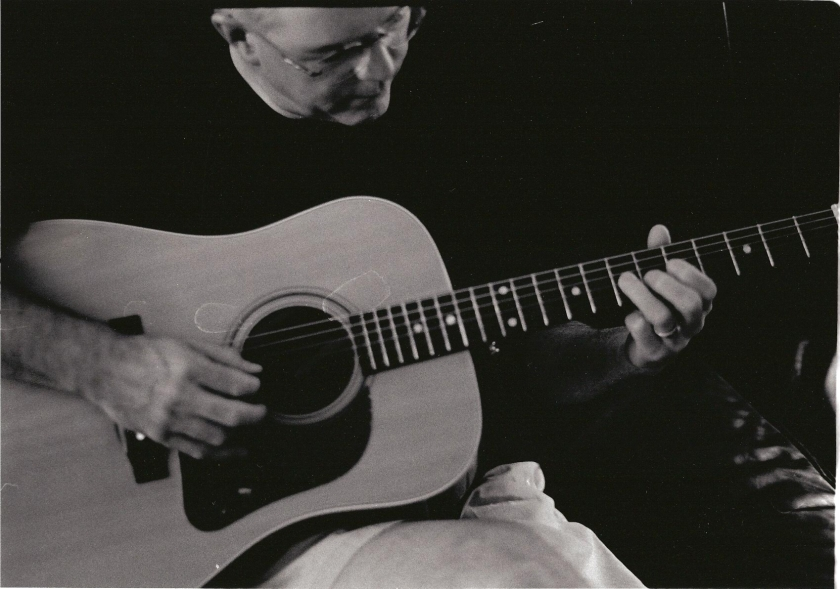 A Guitar Study, Photo by Claire