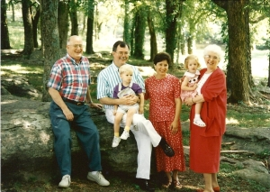 A Family Photo with Mom 1993
