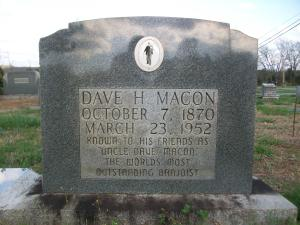 Uncle Dave Macon Tombstone