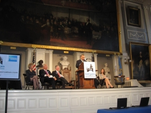 Gov. Patrick speaks at opening event