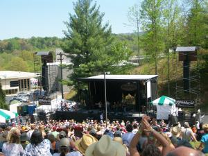 The Hillside Stage view at Merlefest 2009
