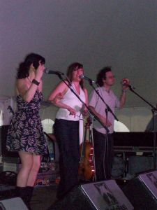 The Duhks at the Dance Tent