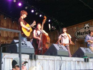 Missy Raines and the New Hip at Merlefest