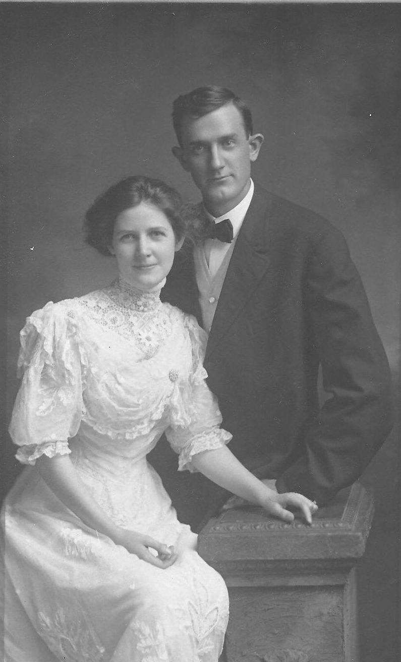 Mary Dixie and George Brown