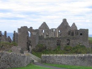 Andrew's View of Dunluce Castle