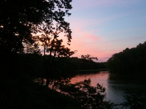 River House Sunset