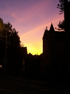 Christ Church Cathedral at Sunset