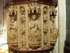 Christ Church Cathedral Pulpit Detail