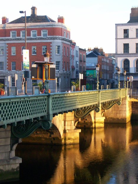 Grattan Bridge 1875 Dublin 091309