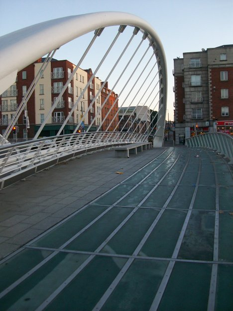 James Joyce Bridge Dublin