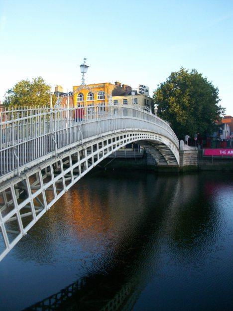 Liffey (Ha' Penny) Bridge 1816 Dublin
