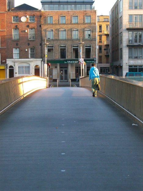 Millennium Footbridge 1999 Dublin