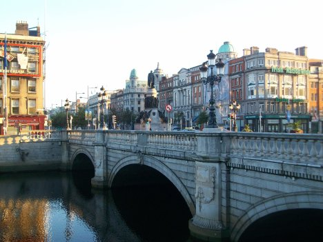O'Connell Bridge 1880 Dublin