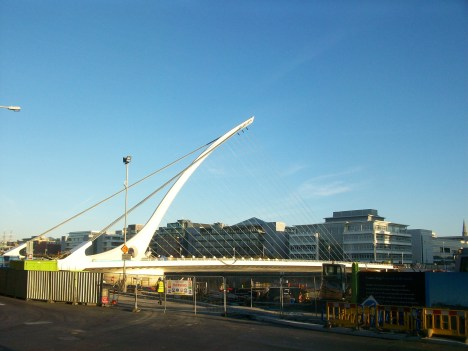 Samuel Beckett Bridge 2010 Dublin
