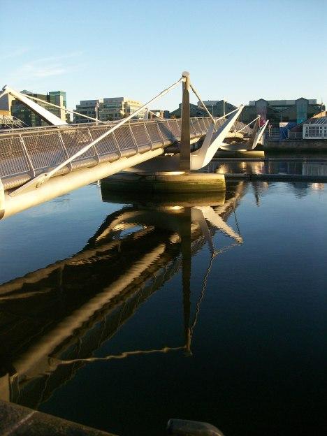 Sean O'Casey Bridge 2005 Dublin