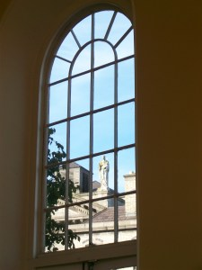 View from Tailors Hall
