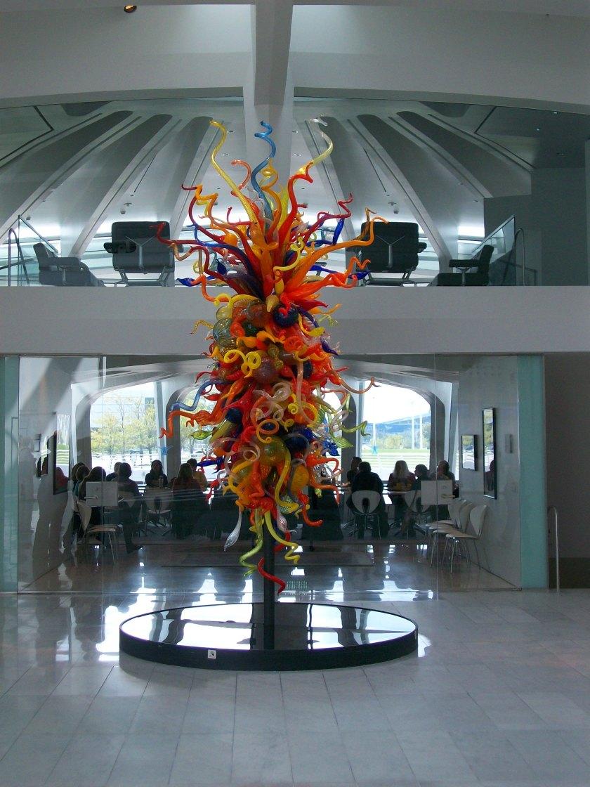 Calatrava's Milwaukee Art Museum