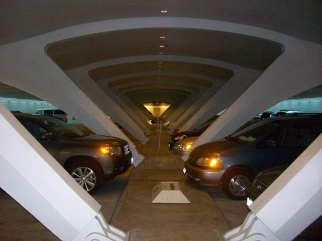 Calatrava's Milwaukee Art Museum and the remarkable parking garage