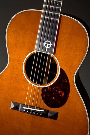 Otis Taylor Guitar detail