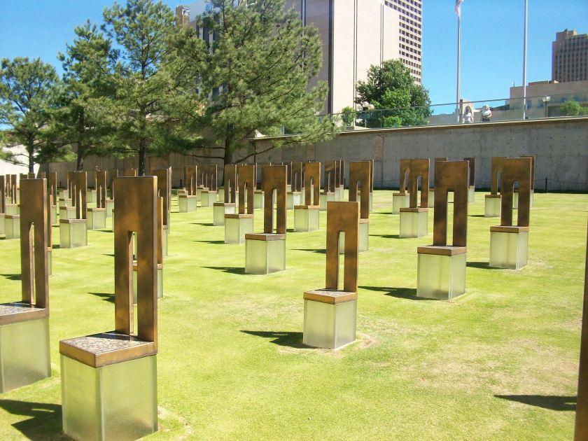 Oklahoma City Field of Empty Chairs