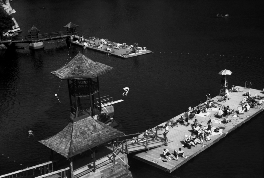 Lake at Mohonk Mountain House by Claire