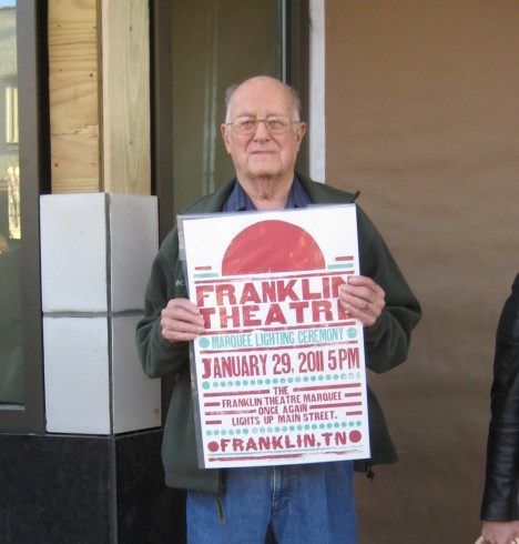Tom Brown at the Franklin Theatre