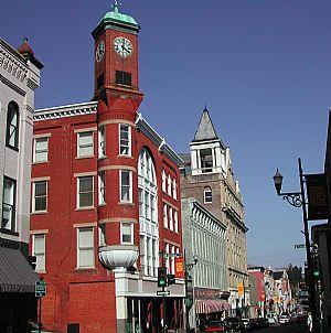 Staunton Clock Tower