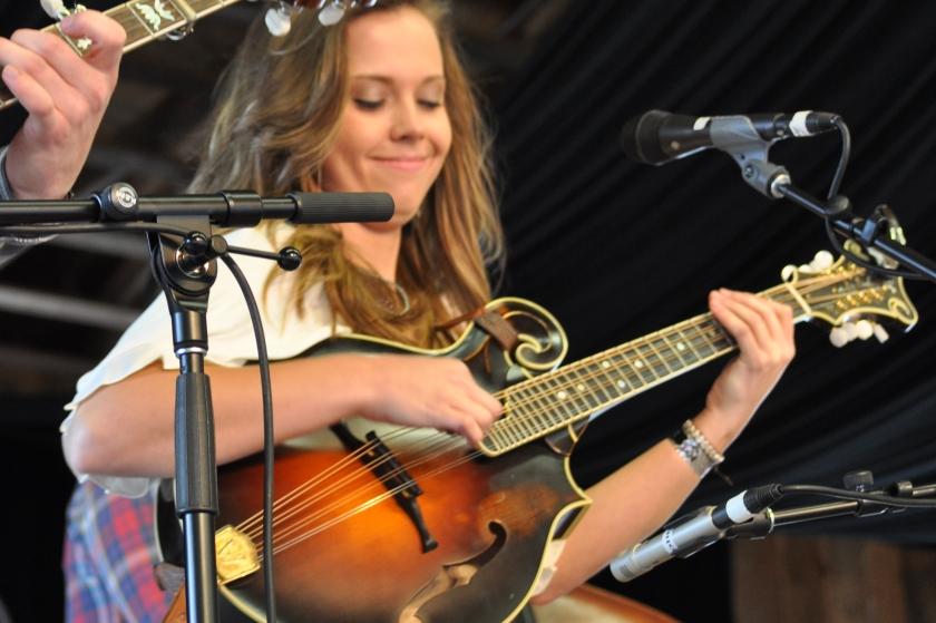 Sierra Hull at Merlefest 25