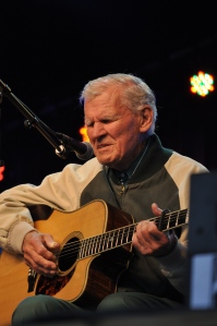 Doc Watson at Merlefest 25 in 2012