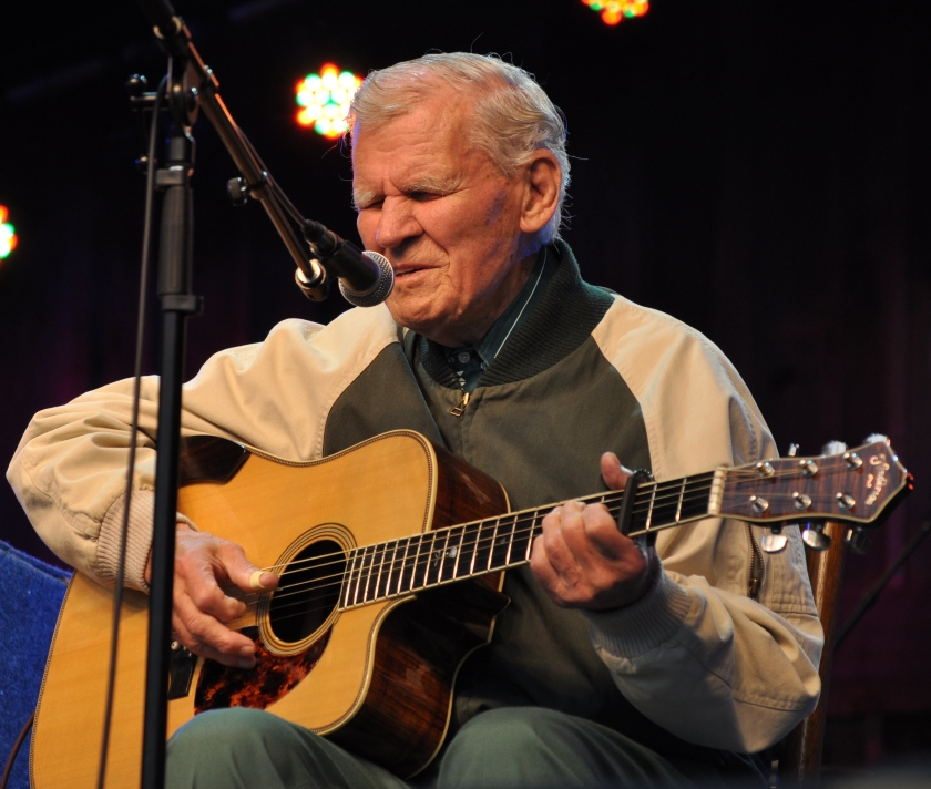 Doc Watson at Merlefest 2012, the 25th Anniversary