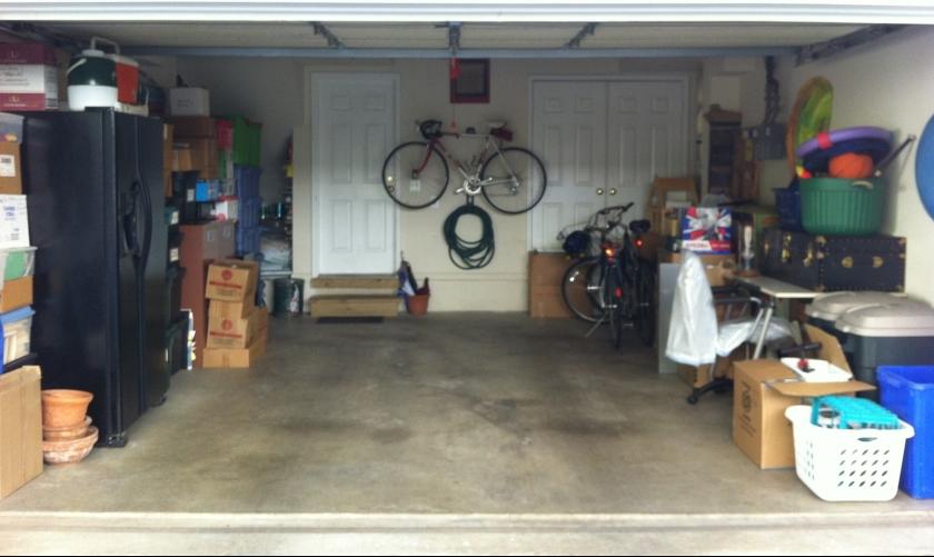 Cleaned garage