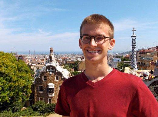 Andrew in Spain 2012