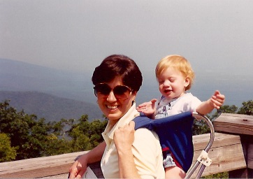 Hiking at Wintergreen with Mom