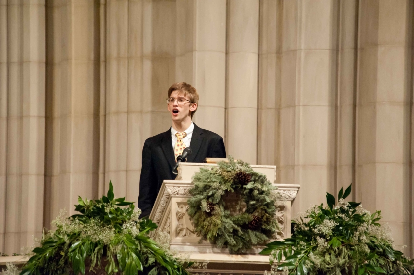 Lesson and Carols at the Washington National Cathedral 2010