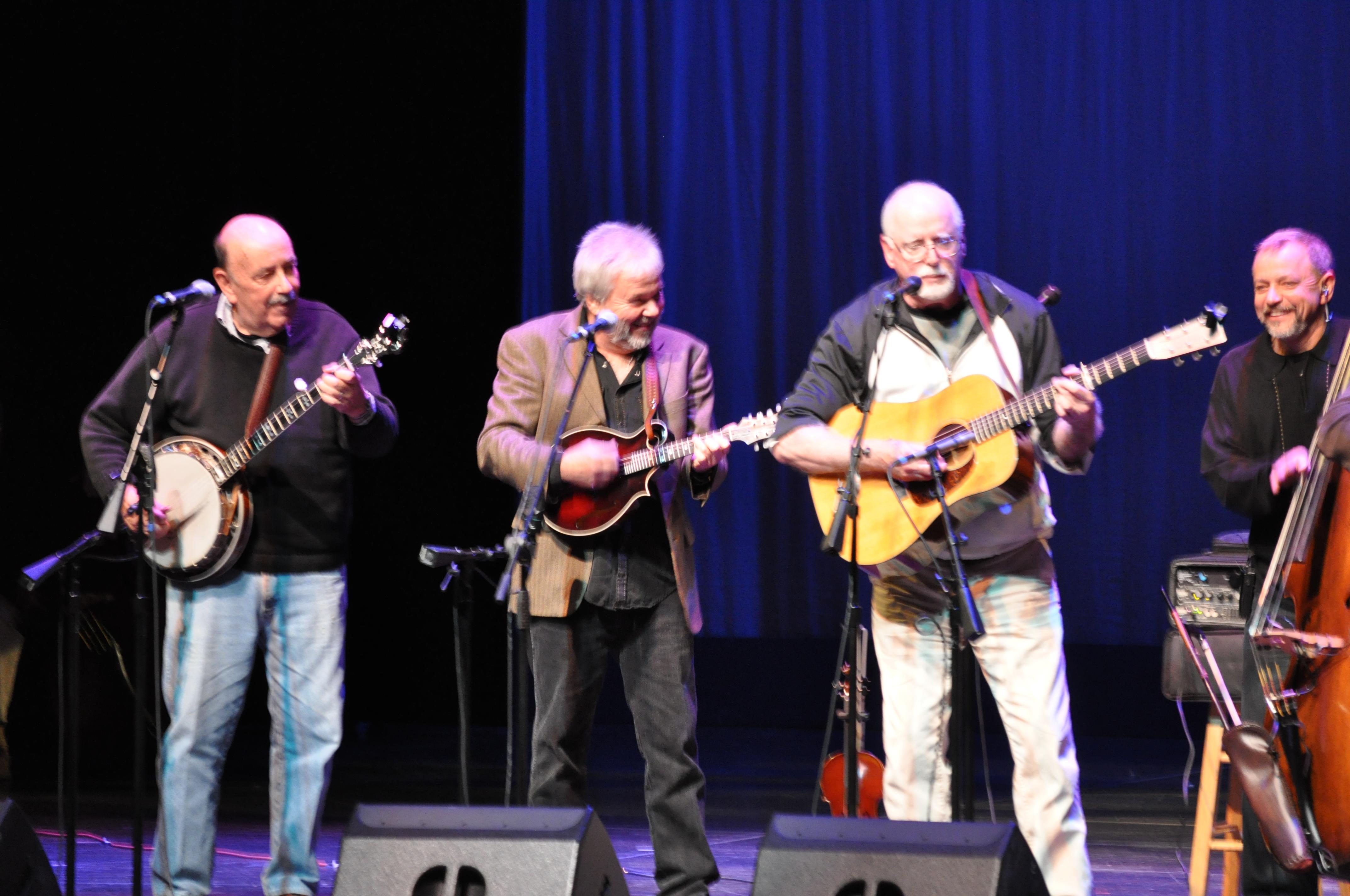 Ben Eldridge, Rickie Simpkins, John Starling, and Ronnie Simpkins