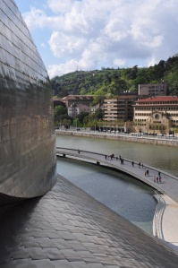 Detail of the Guggenheim Bilbao