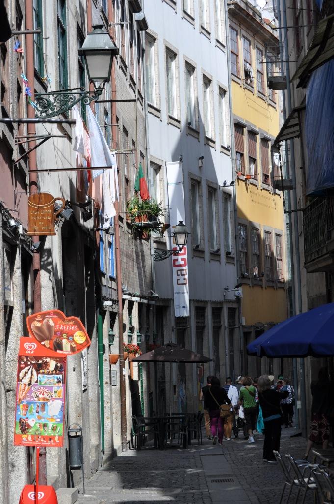 A Street in historic Porto, Portugal