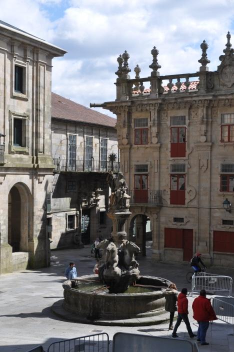 A Plaza in Santiago de Compostela