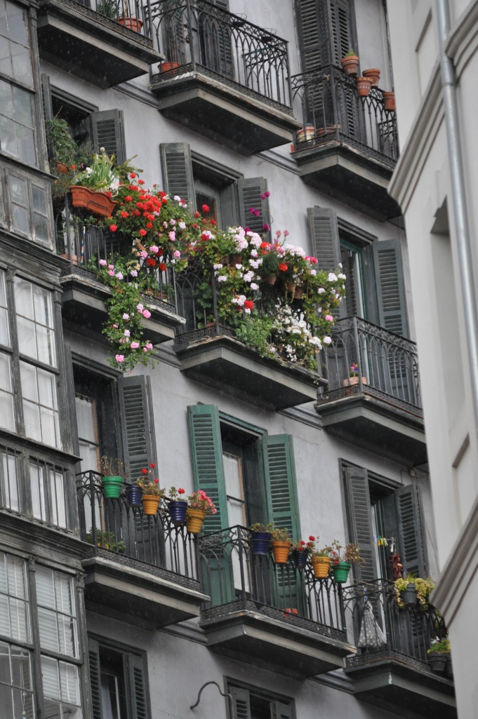 A historic detail from Bilbao