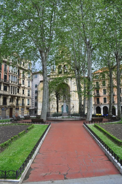 A Bilbao church