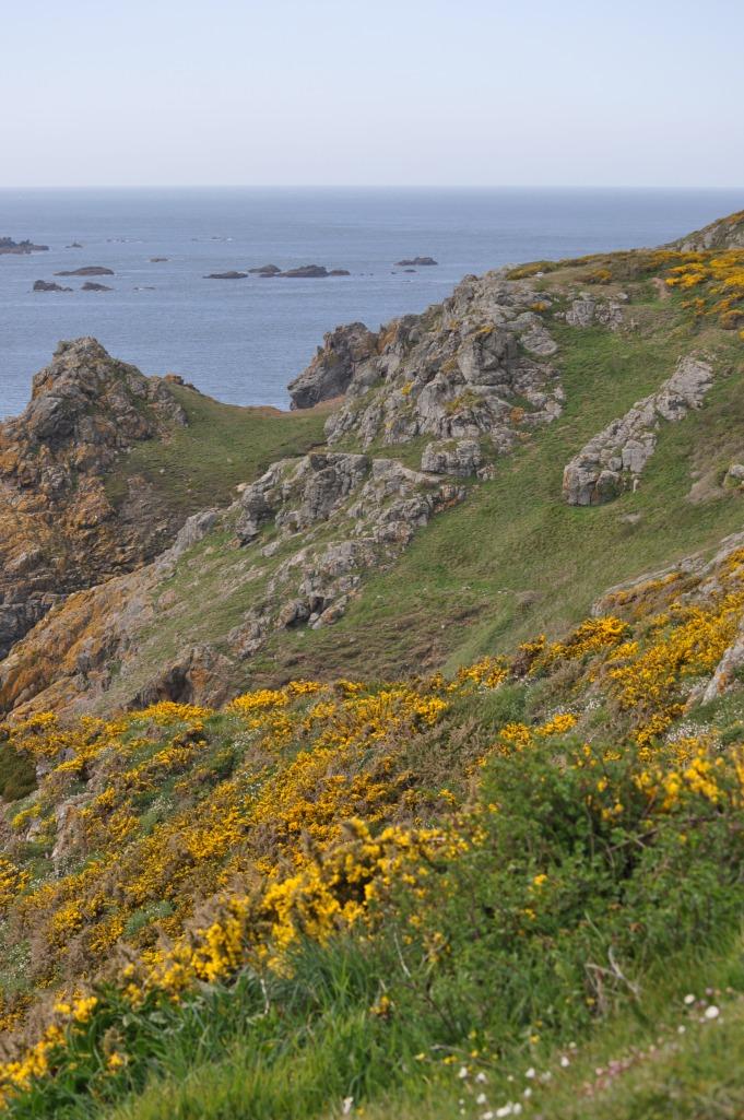 Guernsey coast line