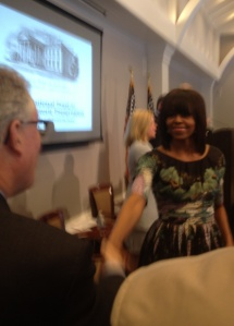 Michelle Obama at Decatur House