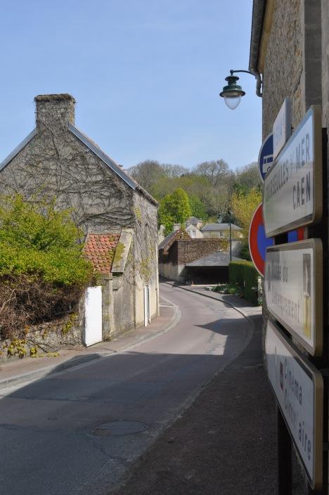Arromanches Street Scene