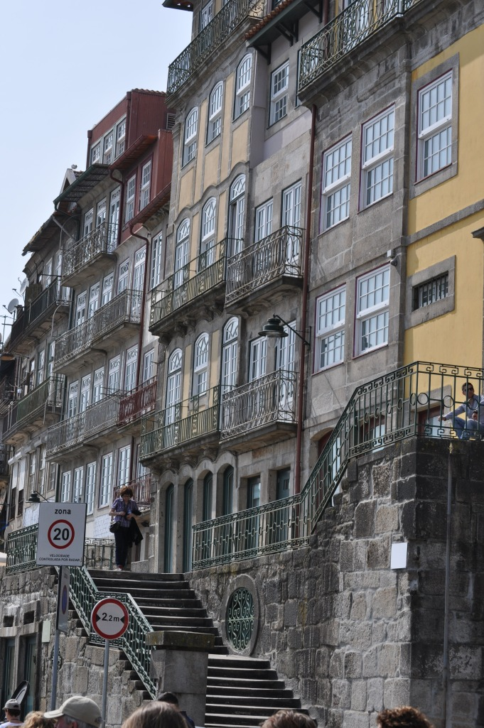 Along the river in Porto, Portugal