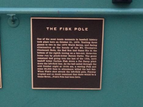 Fenway's Fisk Pole