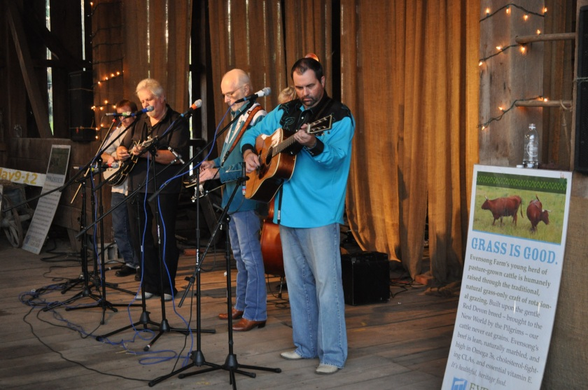 Bluegrass in the Barn 101010 019