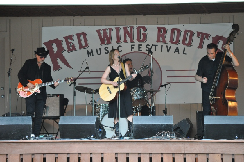 Eilen Jewell at Red Wing Festival 2013